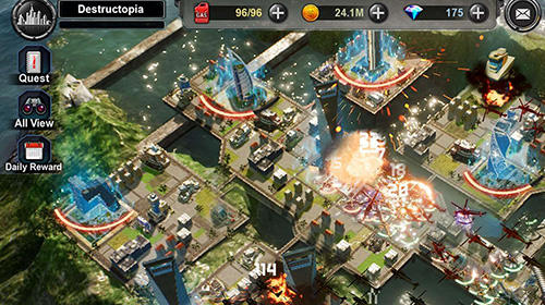 Destructopia: Heroes battle für Android