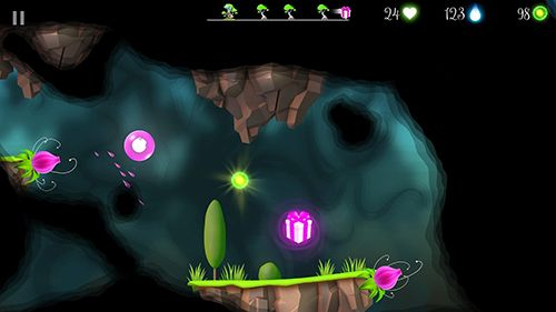 Screenshot Flora and the darkness on iPhone