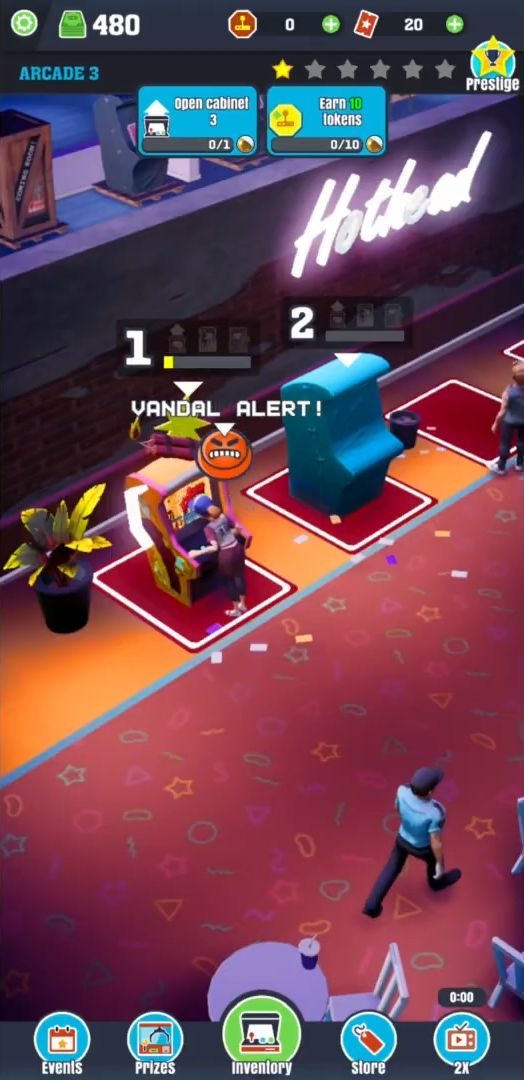 Arcade World: Idle & Play! captura de tela 1