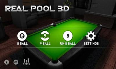 Sport Real Pool 3D für das Smartphone