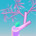 Spintree 2: Merge 3D flowers calm and relax game Symbol