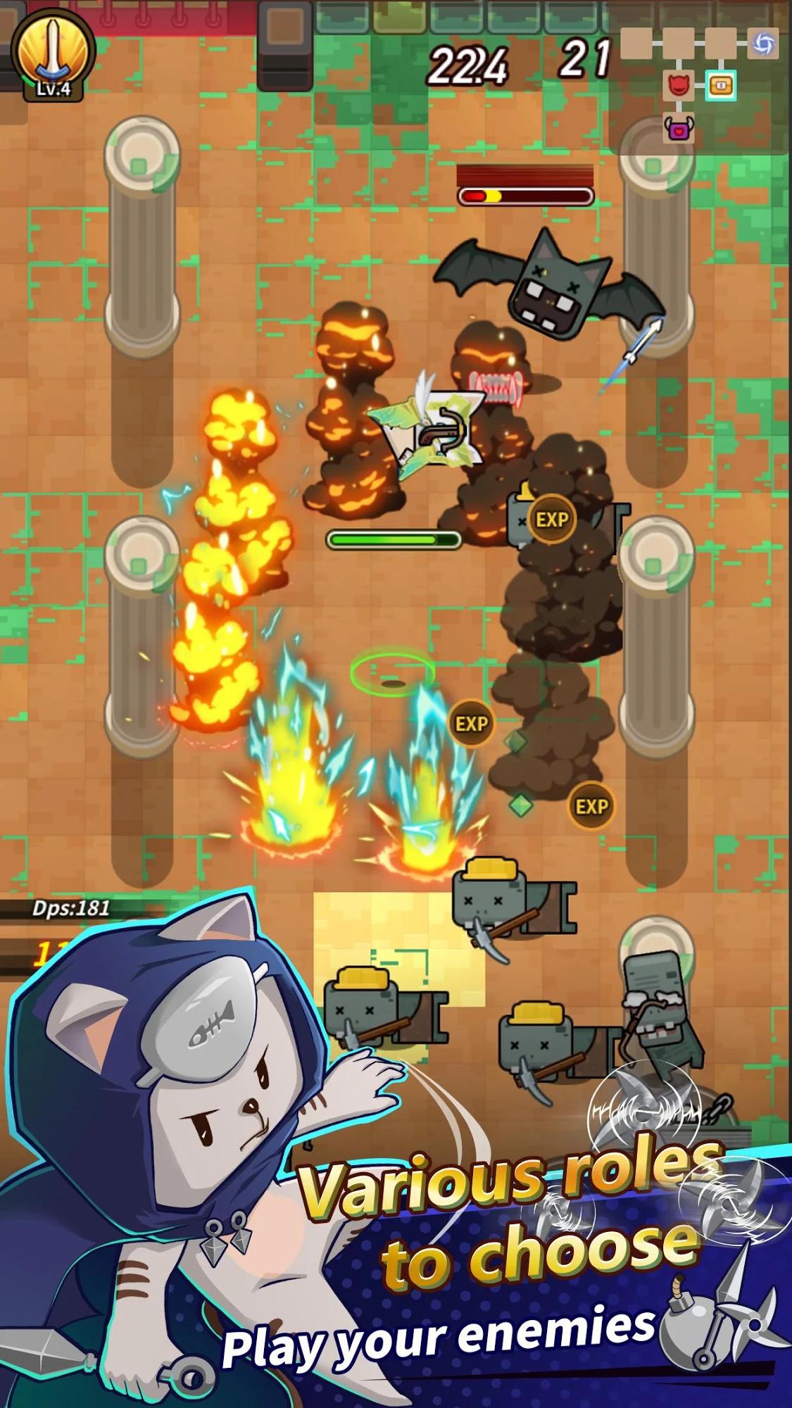 скріншоти Cat Alchemist