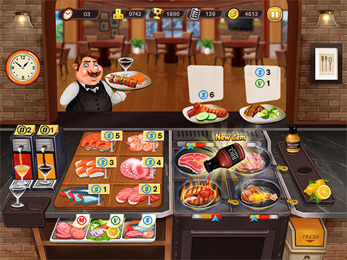 Kitchen cooking madness для Android
