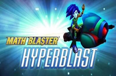 logo Math Blaster: HyperBlast 2