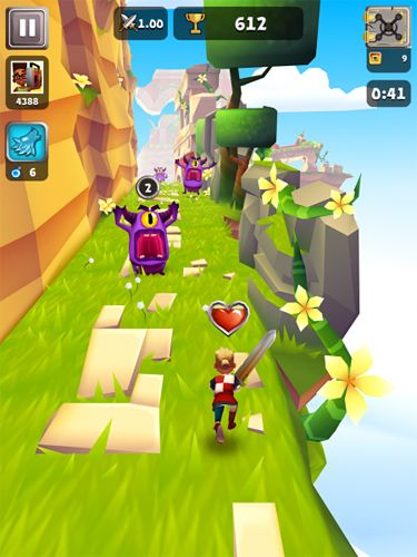 Arcade: download Blades of Brim to your phone