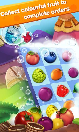 Arcade Panda and fruits farm für das Smartphone