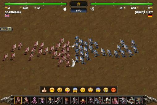 Juegos de arcade Miragine war: First campaighn para teléfono inteligente
