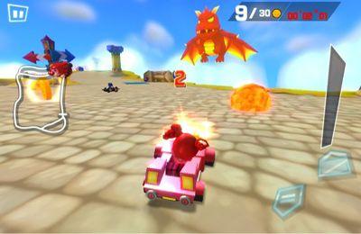 Mole Kart 2 Evolução para iPhone