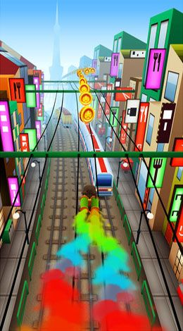 Subway surfers: World tour Tokyo auf Deutsch