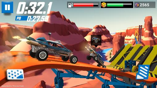 Hot wheels: Race off auf Deutsch