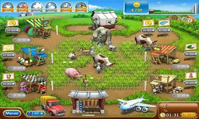 Farm Frenzy 2 für Android
