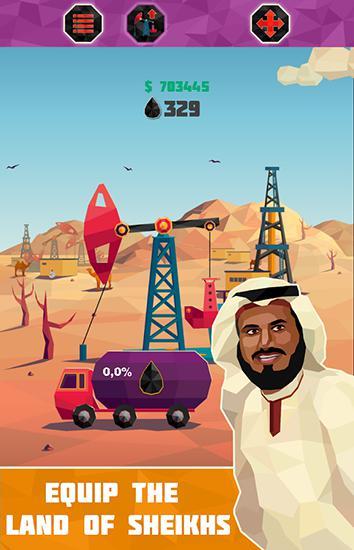 Arcade-Spiele Petroleum tycoon für das Smartphone