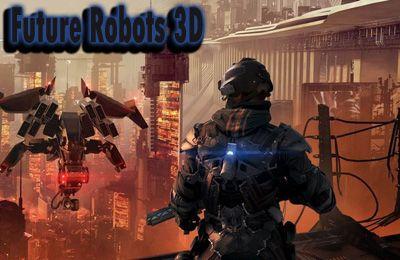 logo Robots del futuro 3D