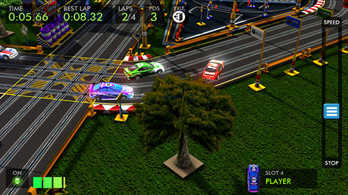 HTR+ High tech racing: Real slot car simulation for Android