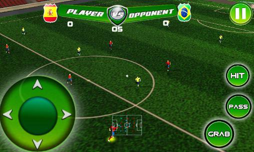 Real football tournament game for Android