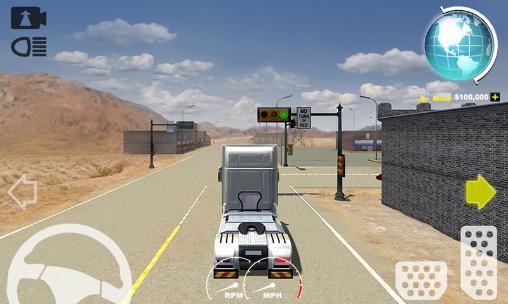 USA 3D truck simulator 2016 para Android