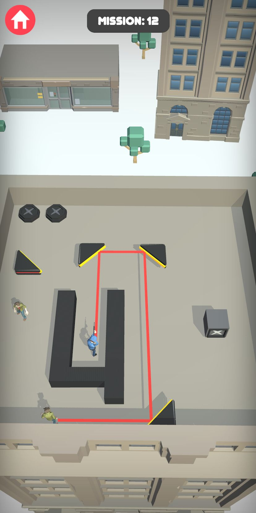 Agent Shot 3D - Cop shooting and chasing game screenshot 3