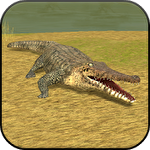 Иконка Wild crocodile simulator 3D