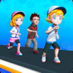 Fun run: Parkour race 3D icono