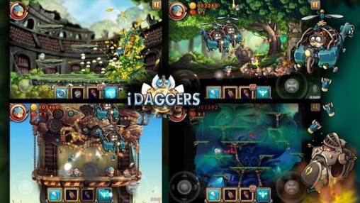 Arcade-Spiele: Lade Dolche auf dein Handy herunter