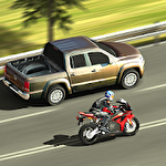 Superbike rider Symbol