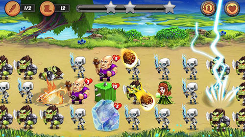Strategische RPG-Spiele Color knights auf Deutsch