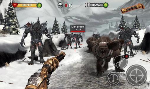 Actionspiele Infinity sword für das Smartphone