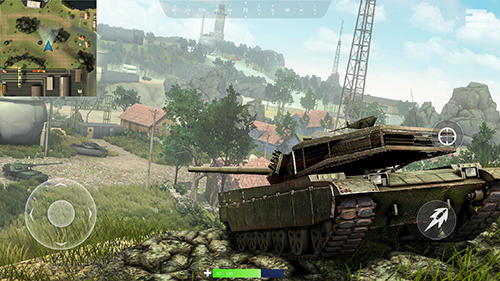 Tank battleground: Battle royale captura de tela 1