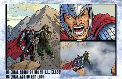 Kampfspiele: Lade Thor: Sohn von Asgard auf dein Handy herunter
