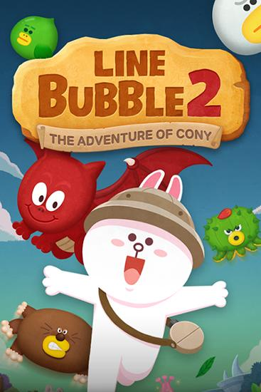 Line bubble 2: The adventure of Cony Screenshot