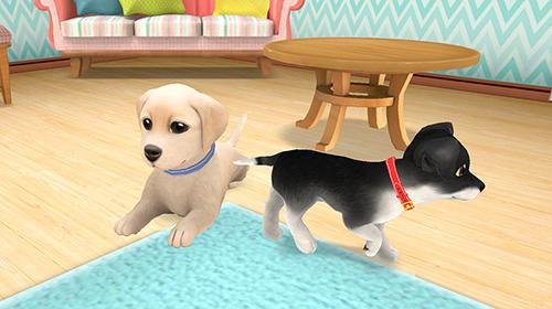 模拟 Lovely pets: Dog town智能手机