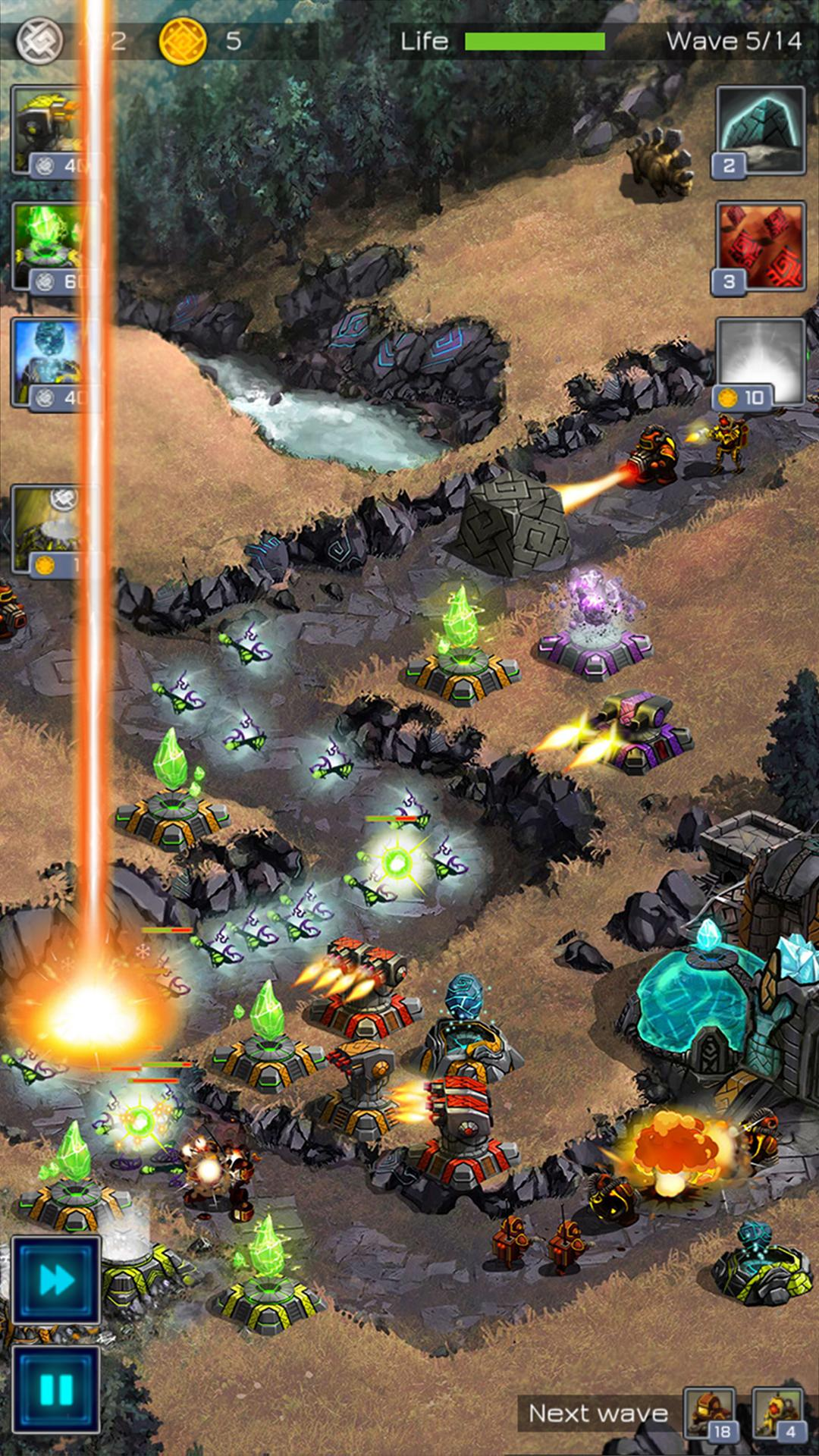 Ancient Planet Tower Defense Offline para Android
