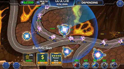 Tower defense: Robot wars Screenshot