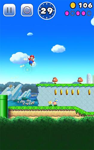 Arcade-Spiele: Lade Super Mario Run auf dein Handy herunter