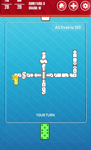 Brettspiele Dominoes classic: Best board games für das Smartphone