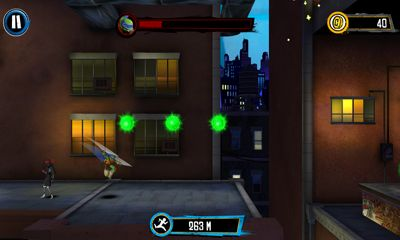 Ninja-Spiele TMNT:  Rooftop run auf Deutsch