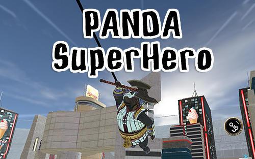 Panda superhero captura de tela 1