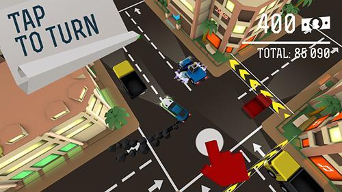 Arcade Drifty chase für das Smartphone