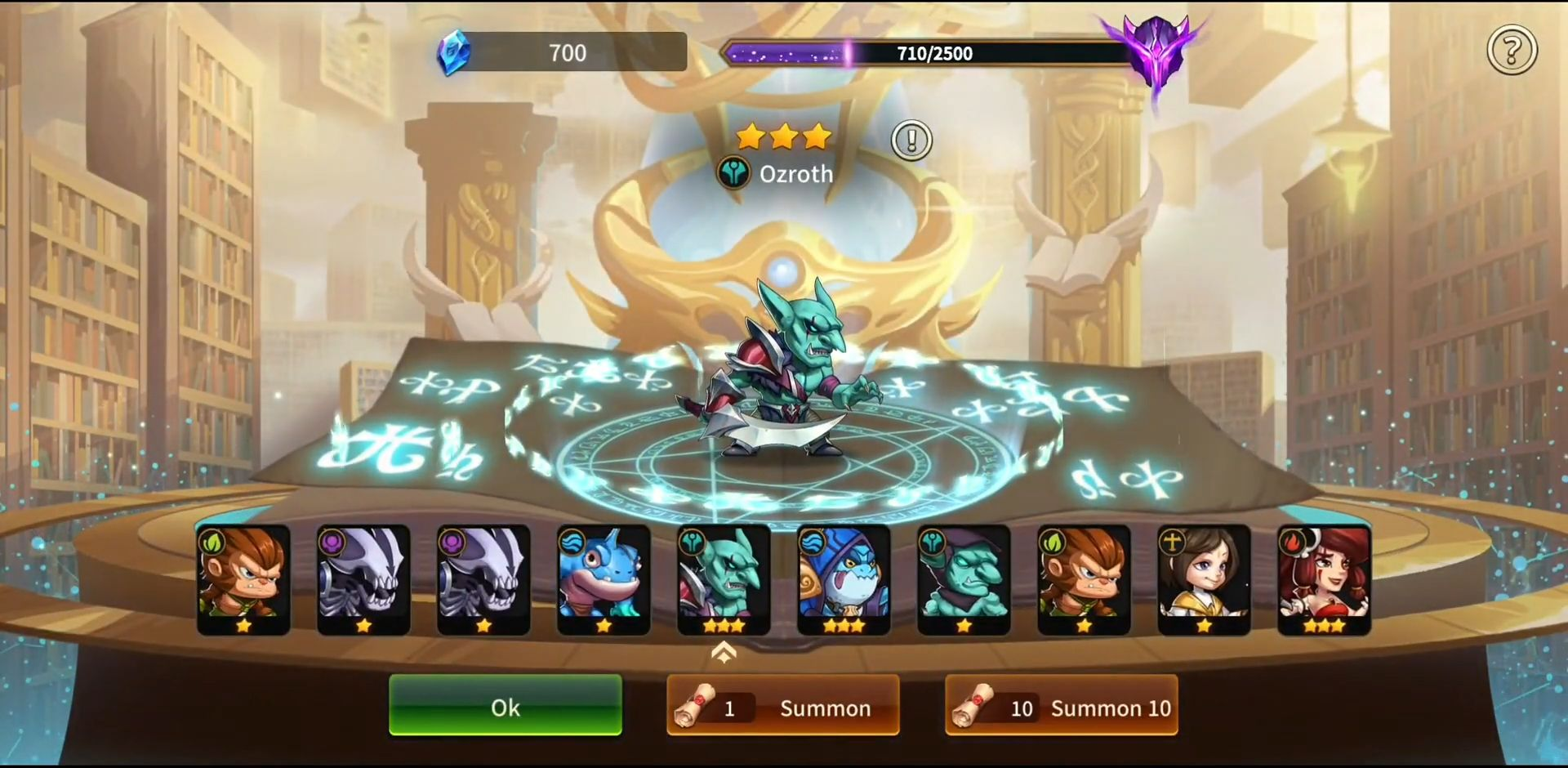 Summoners Era - Arena of Heroes capture d'écran 1