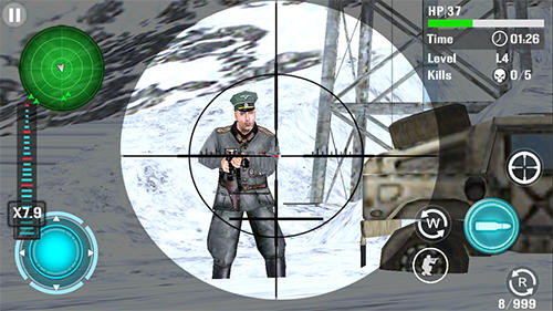 Mountain sniper shooting für Android