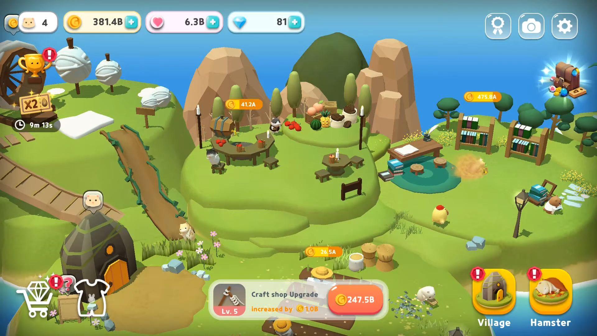 Hamster Village capture d'écran 1
