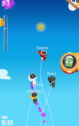 Laufspiele Switch race: Rocket's tale auf Deutsch