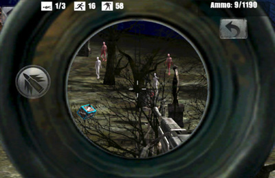 Zombie francotirador para iPhone gratis