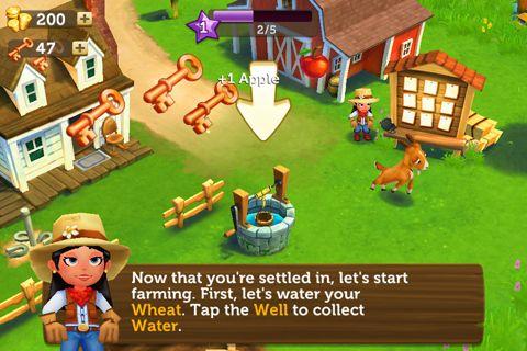 Farmville 2: Privacidad rural para iPhone