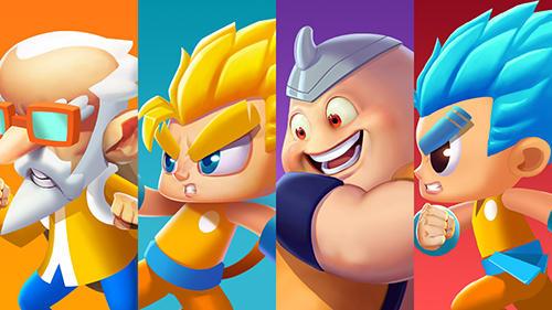 Arcade-Spiele Super brawl heroes für das Smartphone