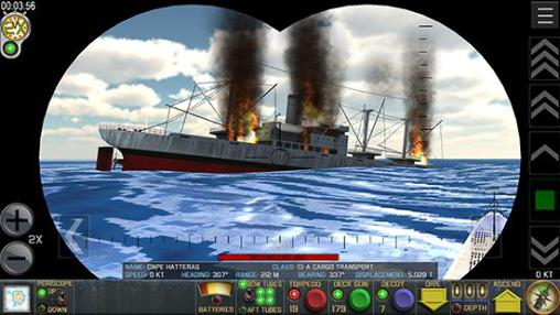 Crash dive: Tactical submarine combat para Android