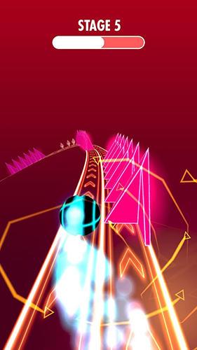 Arcade-Spiele Neon speed rush für das Smartphone