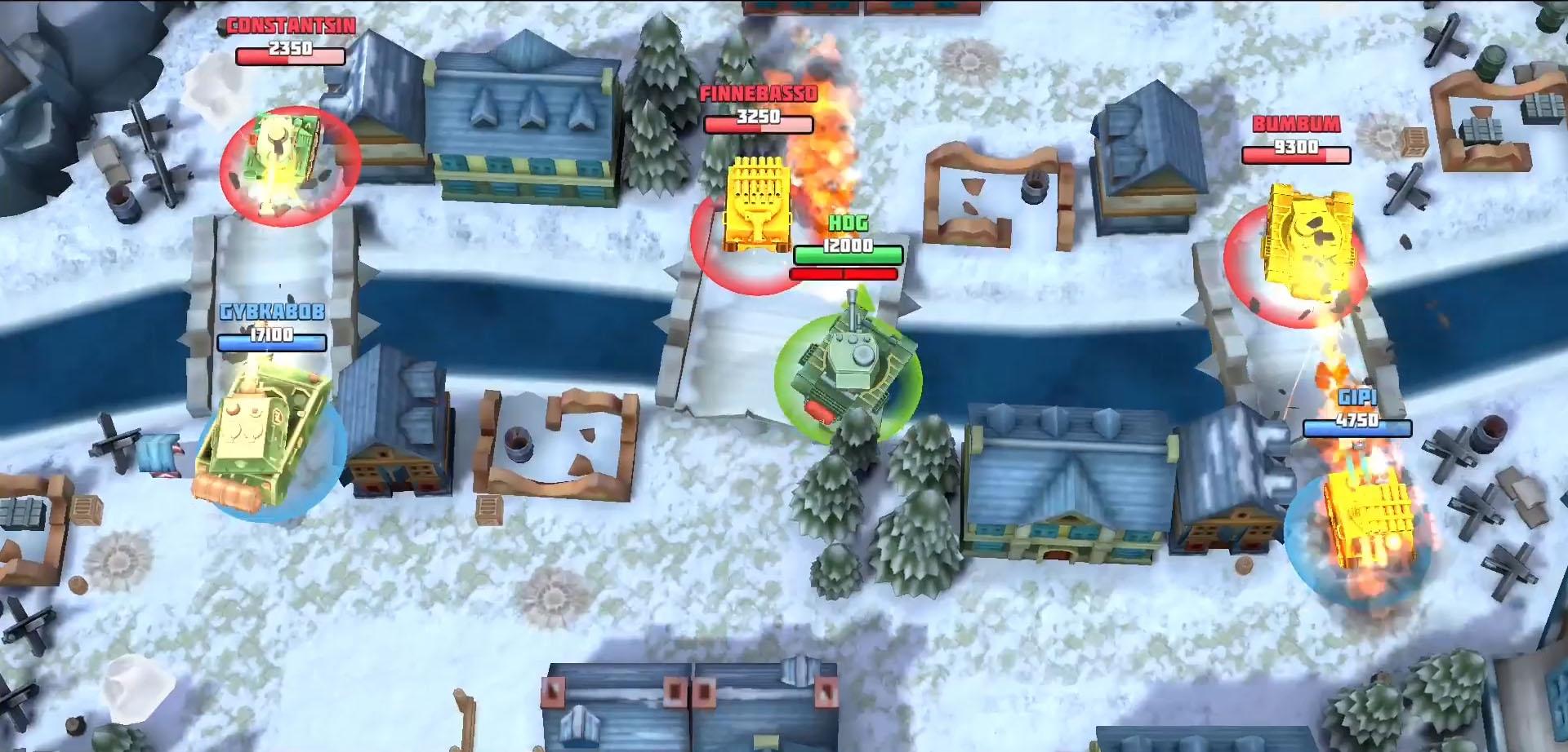 Tanks Brawl : Fun PvP Battles! captura de tela 1