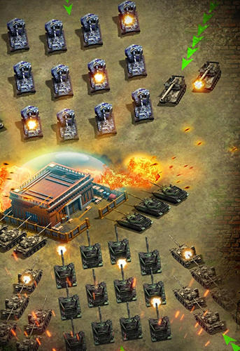 Online-Strategiespiele Strike of nations: Empire of steel. World war MMO auf Deutsch