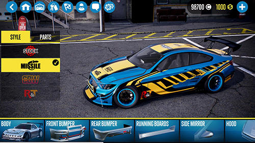 Racing games: download CarX drift racing 2 to your phone